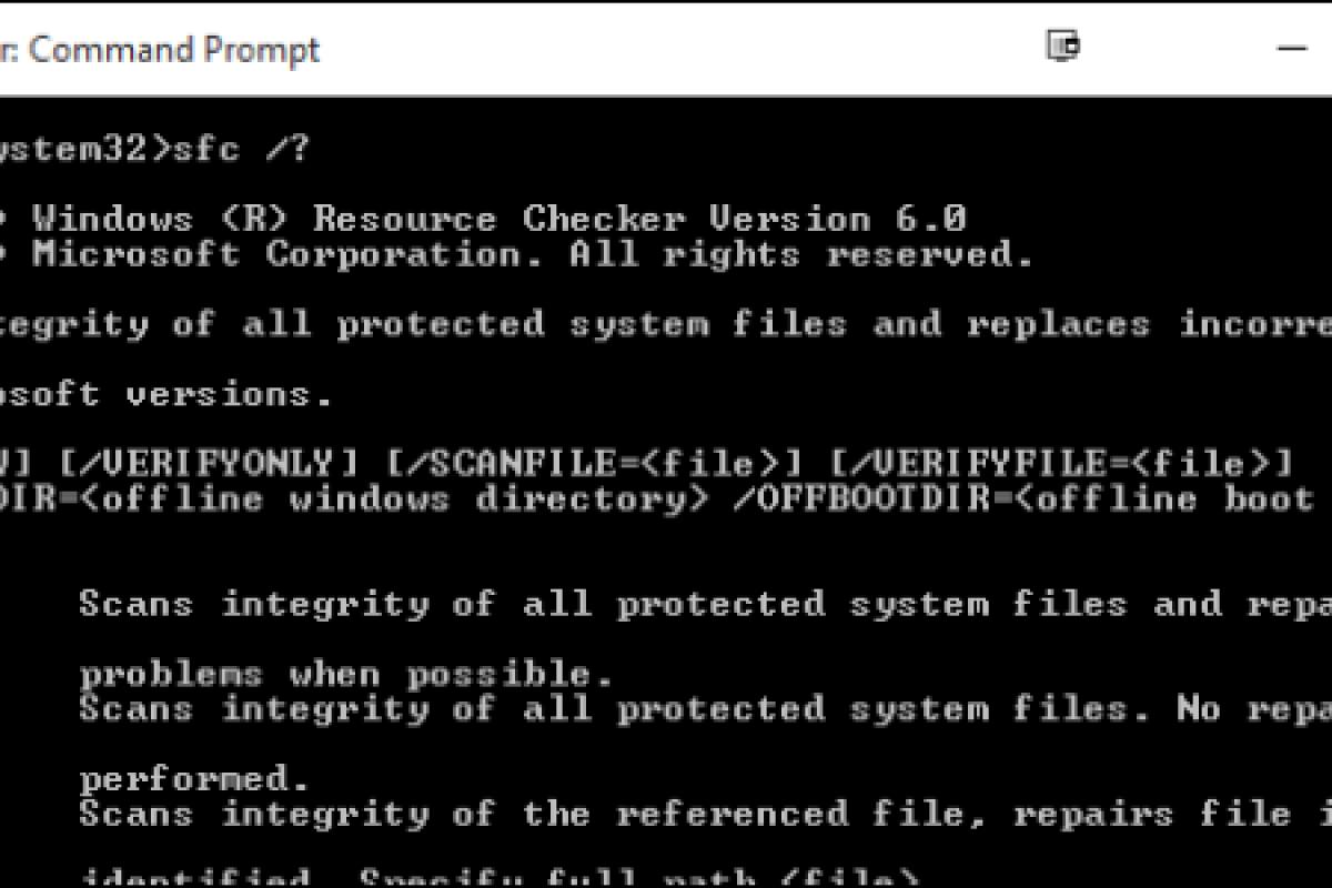 آموزش یافتن فایلهای سیستمی معیوب در ویندوز و راه حل رفع آنها