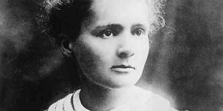 Marie Curie Sklodowska (7.11.1867 - 04.17.1934) is a world well known physicist and chemist famous for her work on radioactivity. Marie was born in Warsaw Poland and later moved to Paris to further her studies. She was the first woman to be awarded a Nobel prize and the first person to receive to Nobel prizes, in physics and chemistry. Reproduction: Marek SKORUPSKI/FORUM