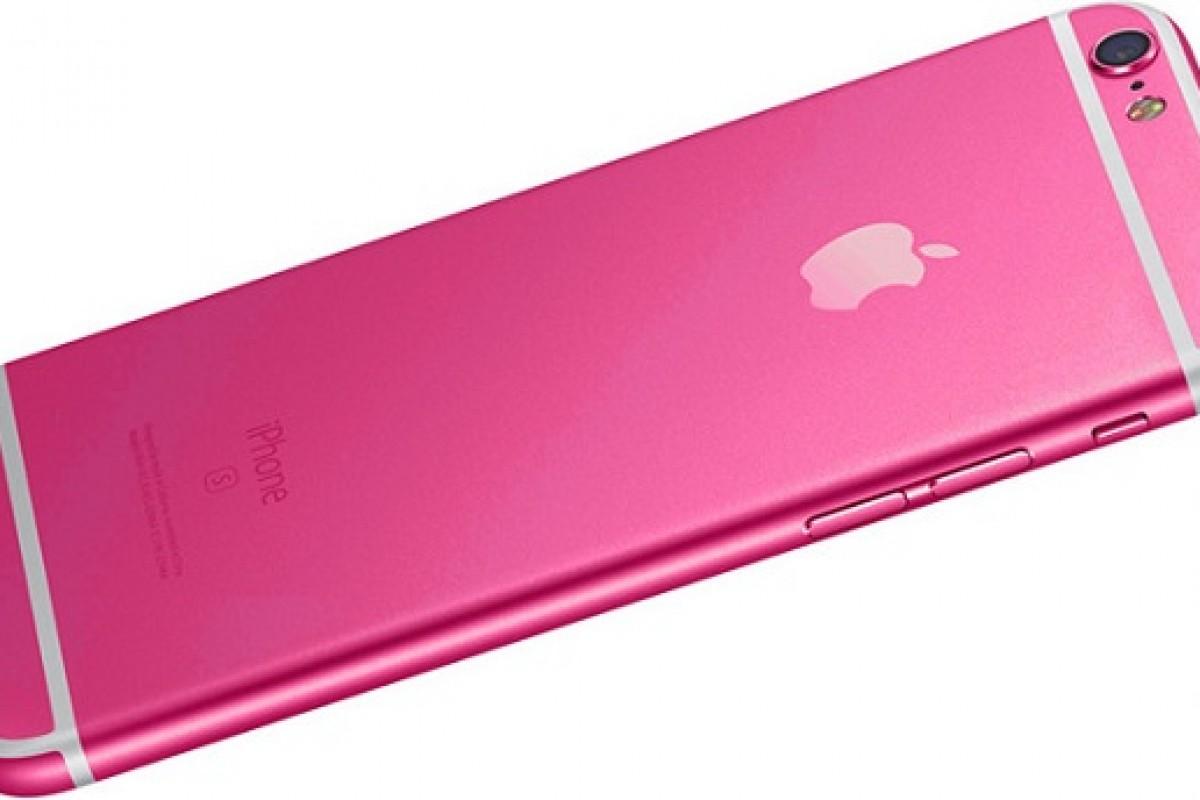 عرضه اپل آیفون 5se با رنگ صورتی