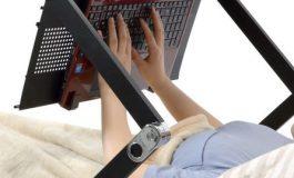 Super Gorone Desk یک پایه نگهدارنده جالب برای لپتاپ شما