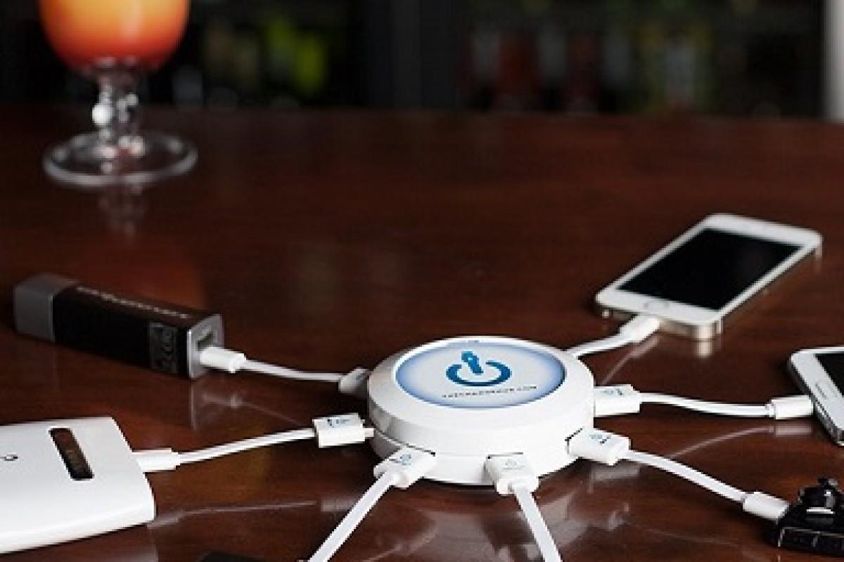 با ChargeHub آشنا شوید؛ ابزاری برای شارژ کردن 7 دستگاه هوشمند به صورت همزمان!