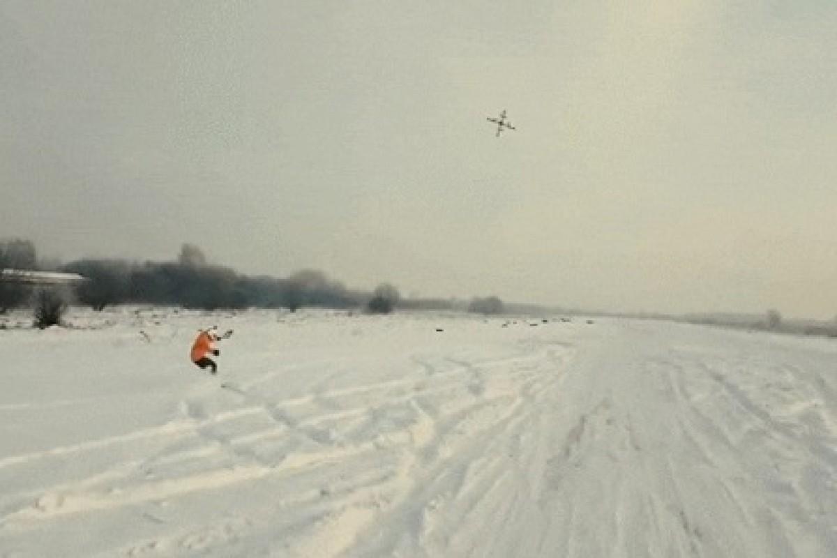با جدیدترین ورزش جهان آشنا شوید: اسکی با پهپاد!