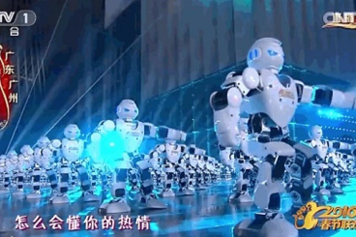 رقص هماهنگ 500 ربات چینی برای سال نو! (به همراه ویدئو)