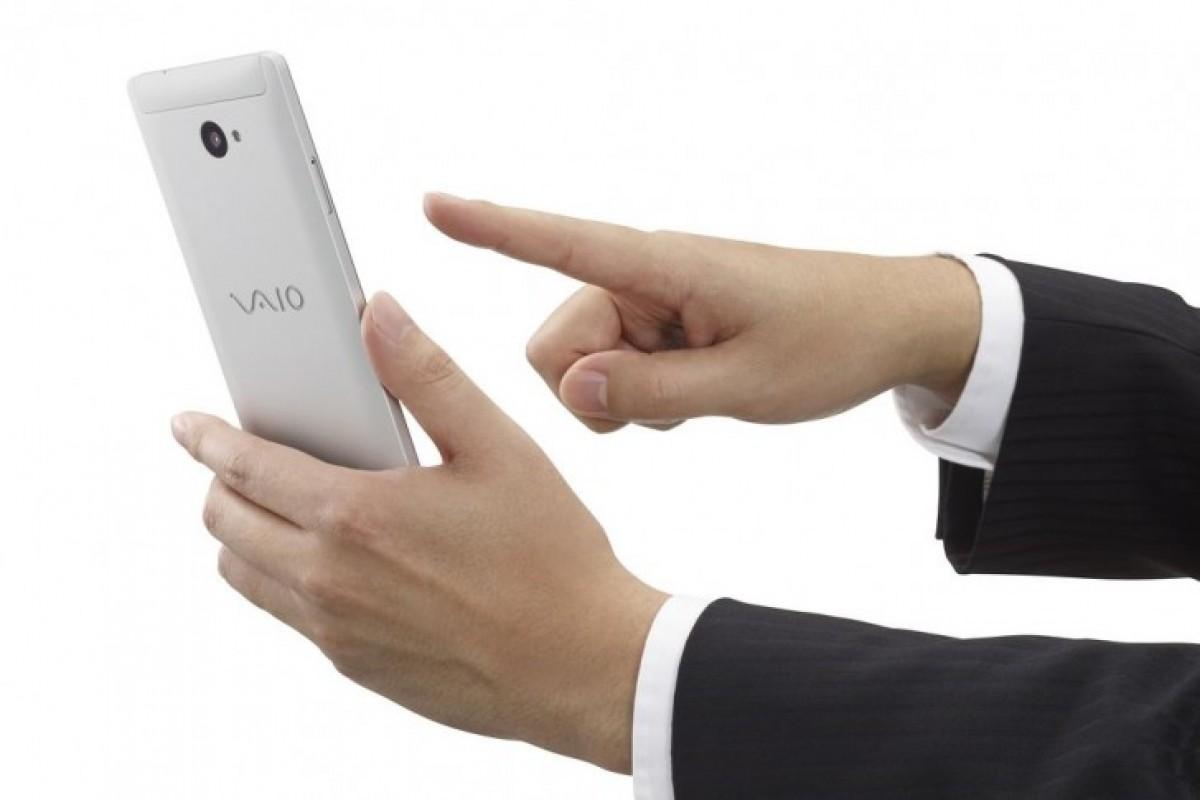 VAIO از اسمارتفون ویندوزی خود پرده برداشت