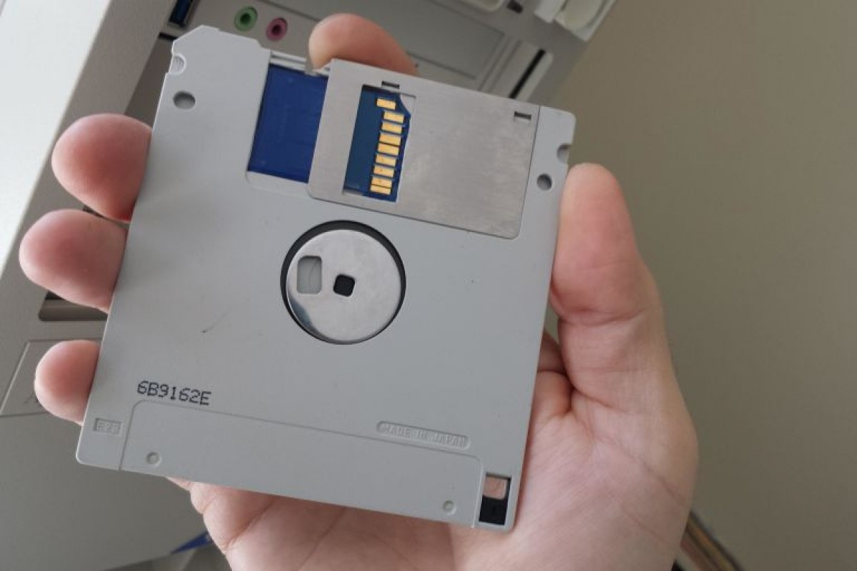 این فلاپی دیسک ۱۱۸ گیگابایت حافظه دارد!