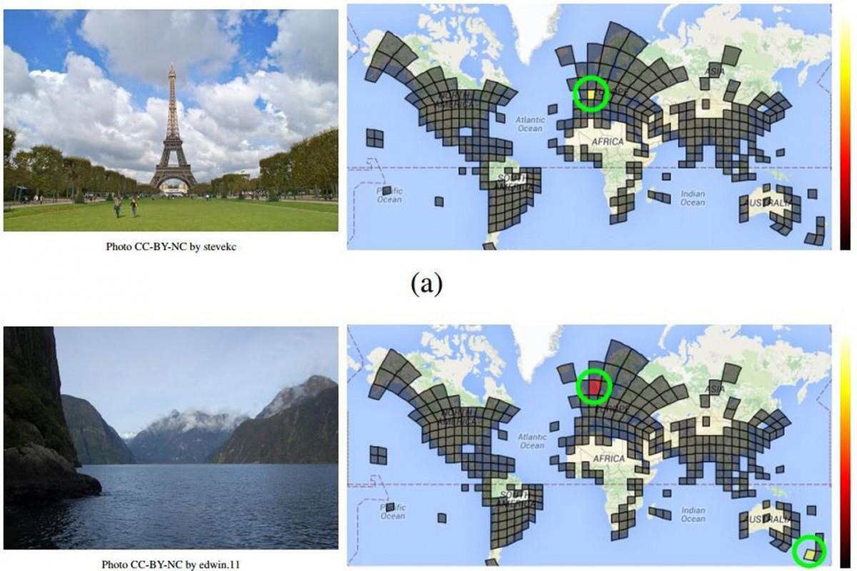 شبکه عصبی گوگل و مشخص کردن مکان ثبت عکس هنگام جستجو