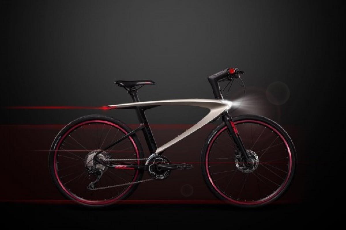 دوچرخه هوشمند اندرویدی با قابلیت پرتاب لیزر