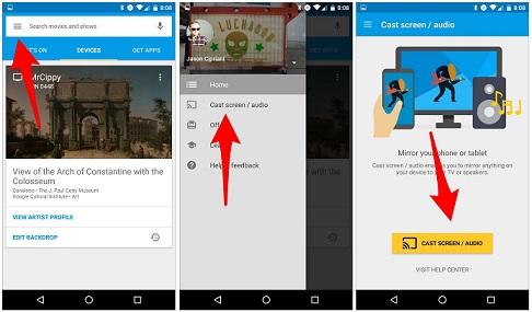 mirror-android-chromecast-app
