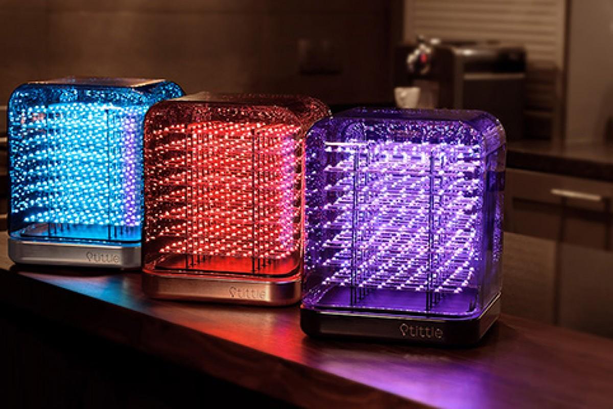 Title یک لامپ هوشمند و خاص با قابلیت نمایش شکلکهای سهبعدی!