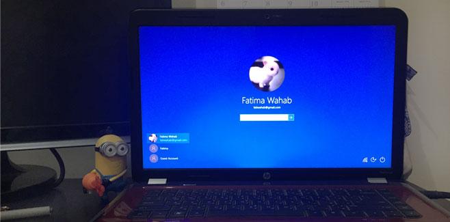 غیرفعالکردن تصویر پشتزمینه صفحه ورود در ویندوز 10