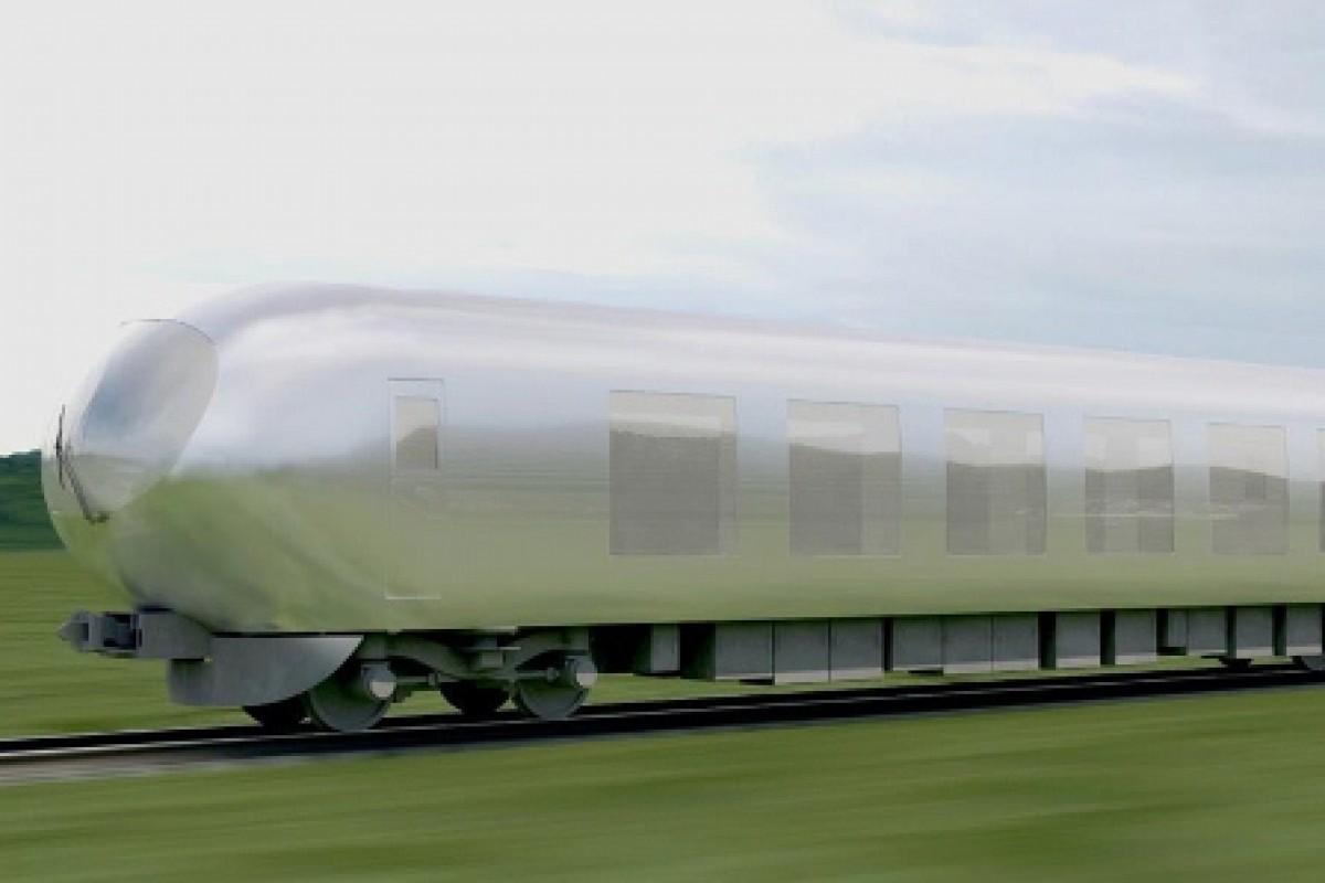 این قطار ژاپنی شبیه محیط اطرافش میشود