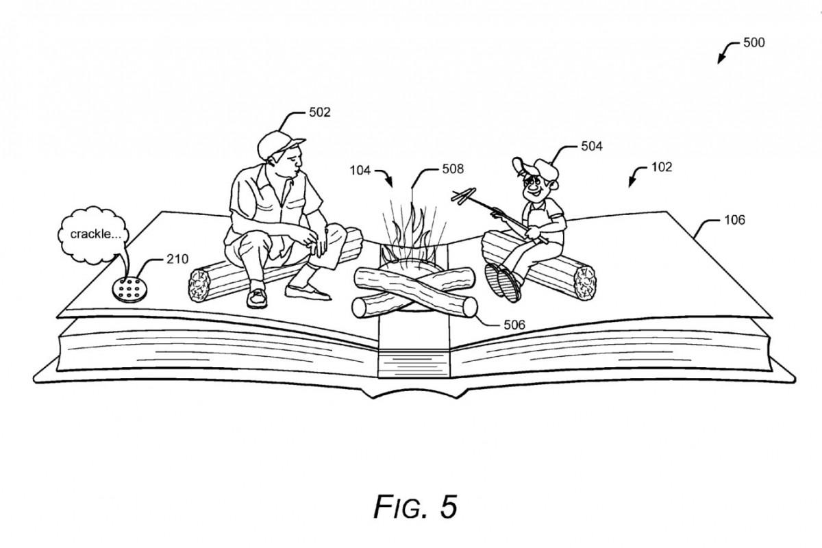 ثبت دو پتنت از سوی گوگل در رابطه با کتابهای تعاملی!
