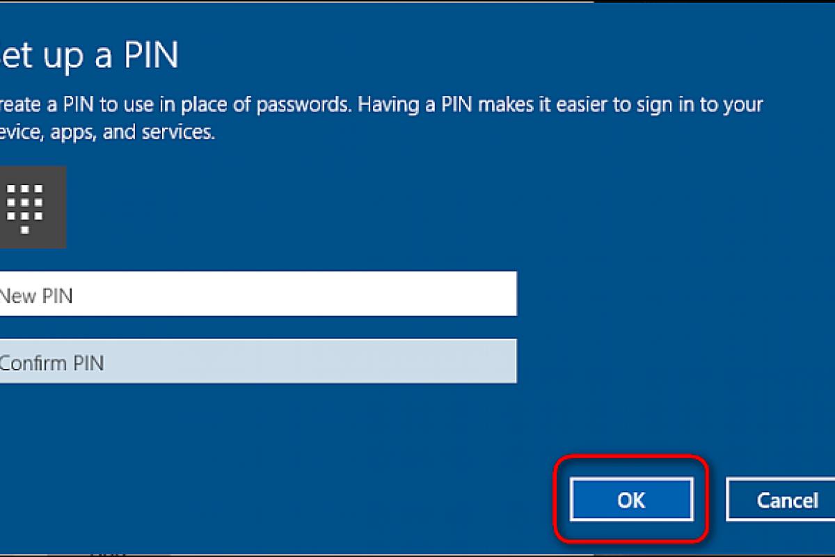 آموزش اضافهکردن پین به حساب کاربری در ویندوز 10