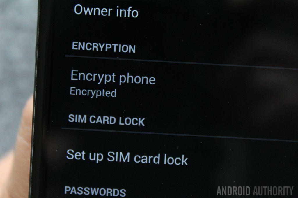 چگونه دستگاه اندرویدی خود را رمزگذاری کنیم؟