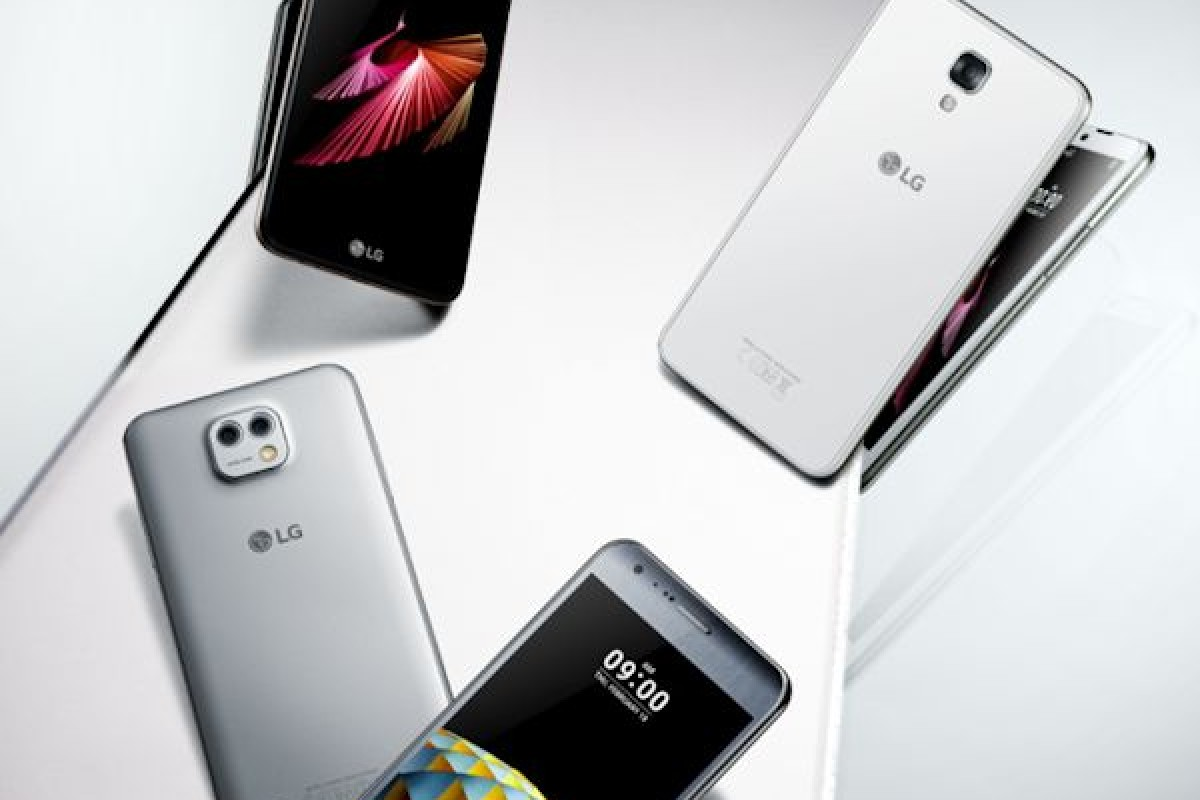 انتشار تصاویر جدید از گوشیهای خانواده X از سوی الجی!