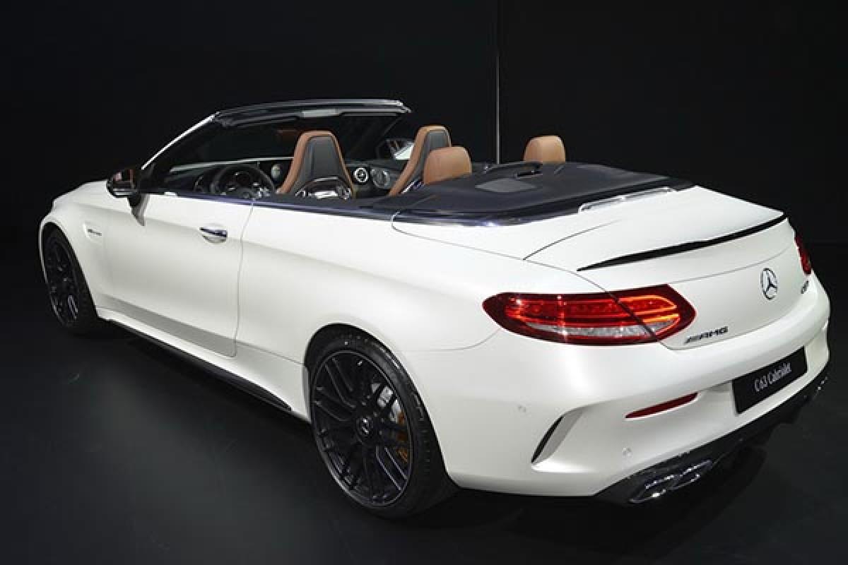 مرسدسبنز از غول جدید خود AMG C63 کابریولت رونمایی کرد