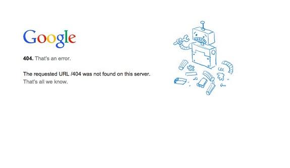 google breakdown