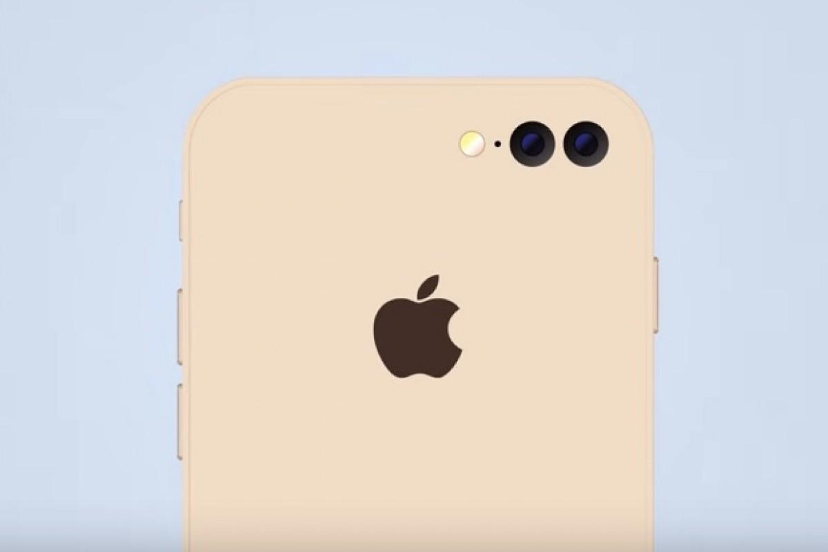 طرح مفهومی بسیار جالب از آیفون 7 با دوربین دوگانه!