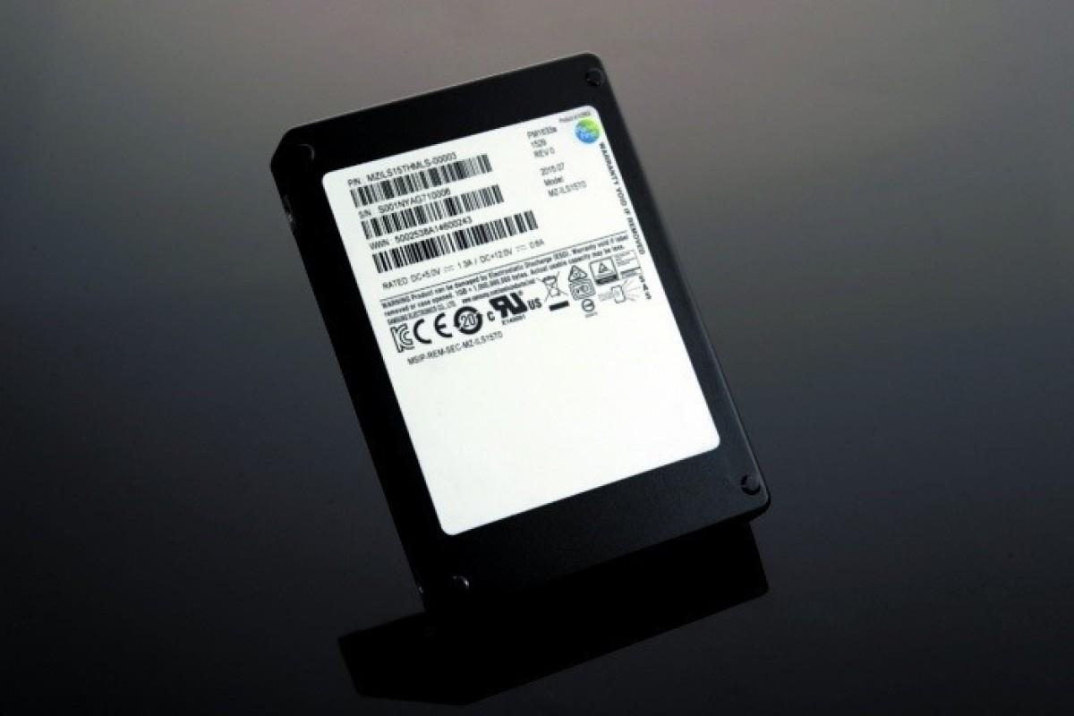 سامسونگ از یک SSD با ظرفیت 15 ترابایت پرده برداشت
