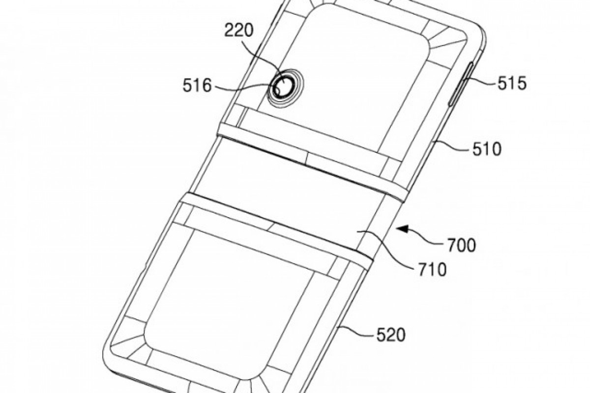 پتنت جدید سامسونگ، طراحی پیچیده برای گوشیهای خمشدنی است!