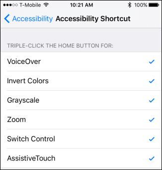 با ویژگی دسترسپذیری Triple-Click از آیفون بیشتر لذت ببرید
