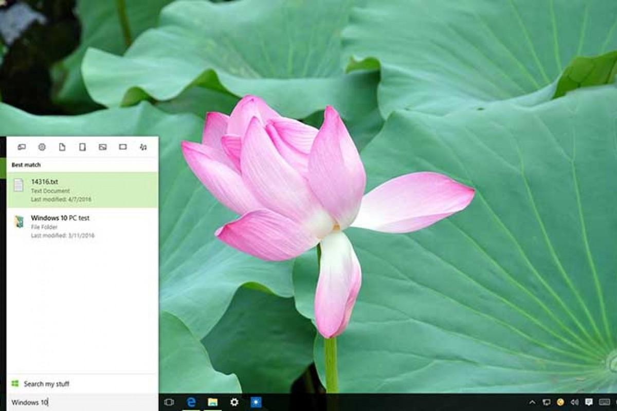 آموزش جلوگیری از به نمایش درآمدن نتایج جستجوی وب بدست آمده توسط کورتانا در ویندوز 10