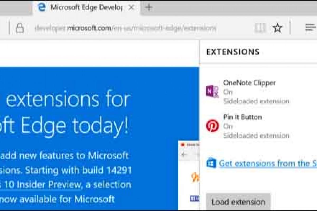 آموزش نصب افزونههای مرورگر مایکروسافت Edge