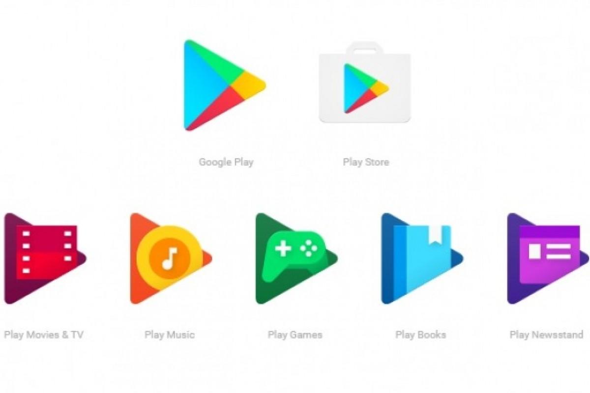 گوگل آیکون برنامههای سری Play را تغییر داد