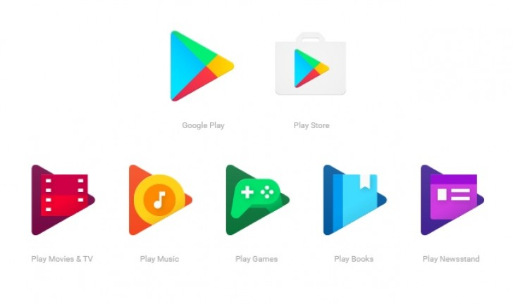 GooglePlay new Icon