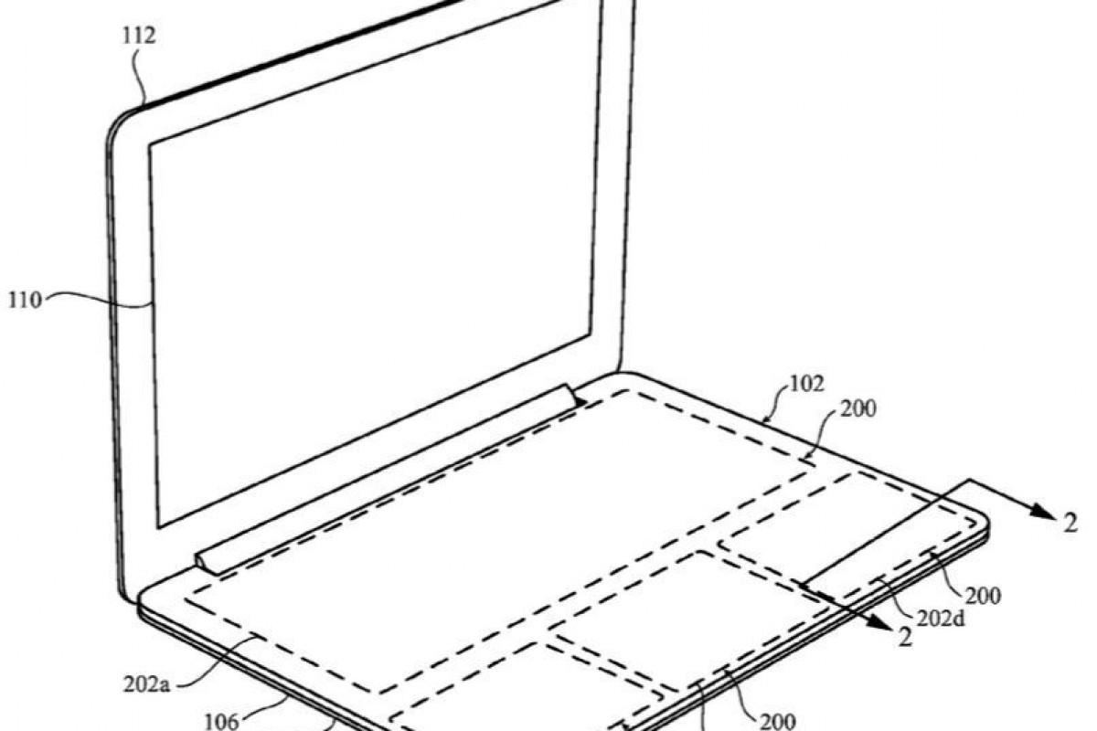 پتنت جدید اپل: استفاده از صفحه لمسی به جای کیبورد در مکبوک!