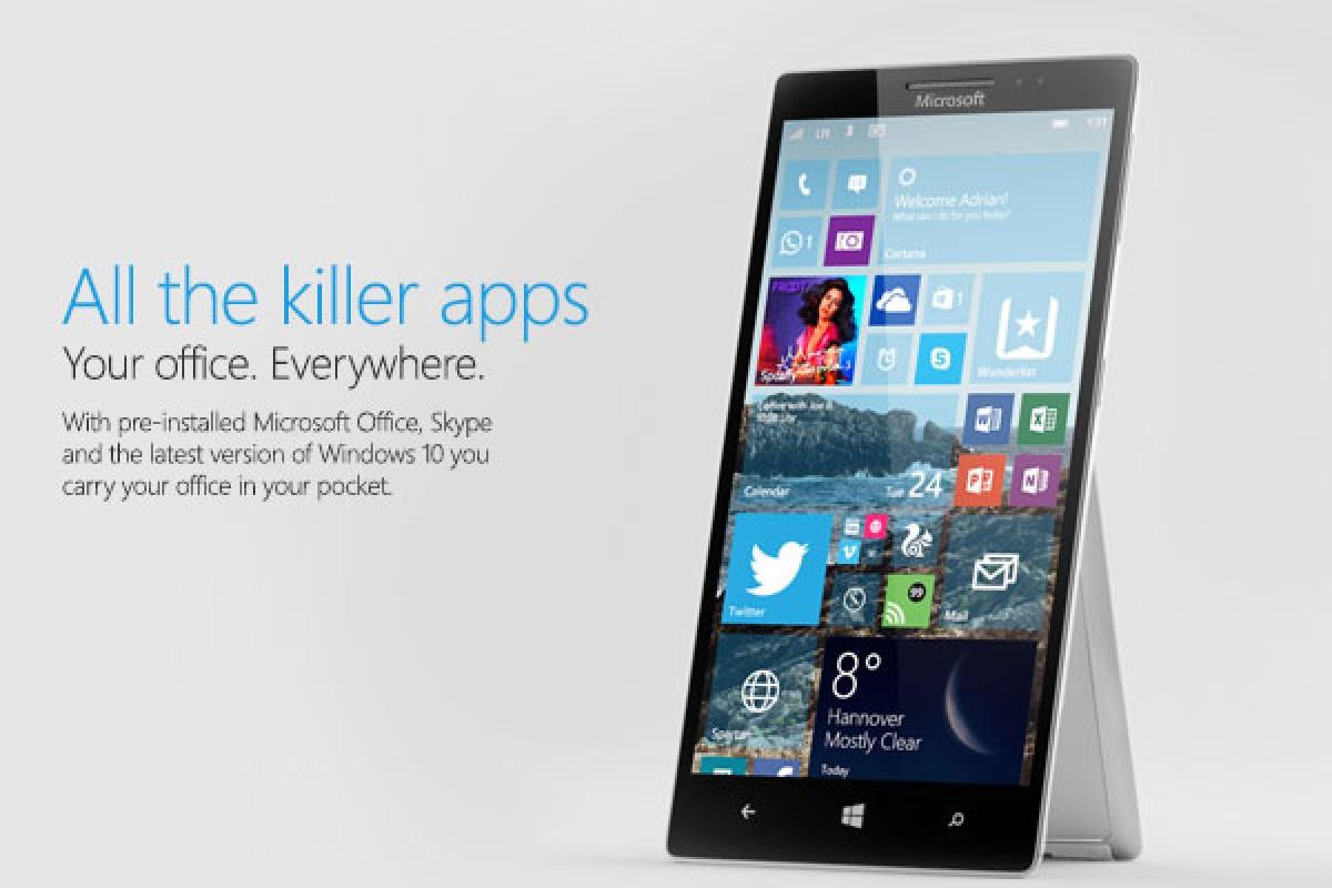 مایکروسافت و معرفی سه اسمارت فون با برند Surface