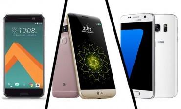 مقایسه HTC 10، الجی G5 و سامسونگ گلکسی S7