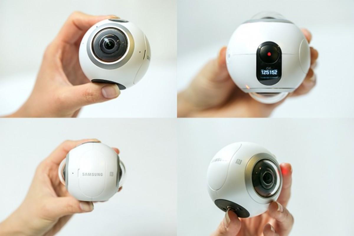 سامسونگ دوربین Gear 360 را عرضه کرد