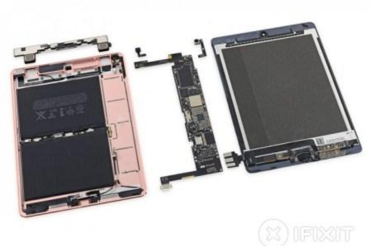 کالبد شکافی آیپد پرو ۹.۷ اینچی اپل توسط iFixit