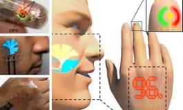 ساخت نمایشگری الکترونیکی که 10 برابر از پوست انسان نازکتر است!