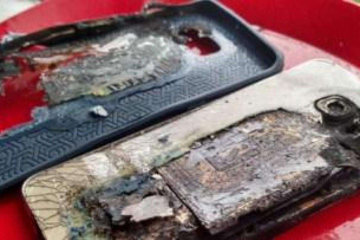 آتشگرفتن گلکسی S6 Edge Plus هنگام شارژ!