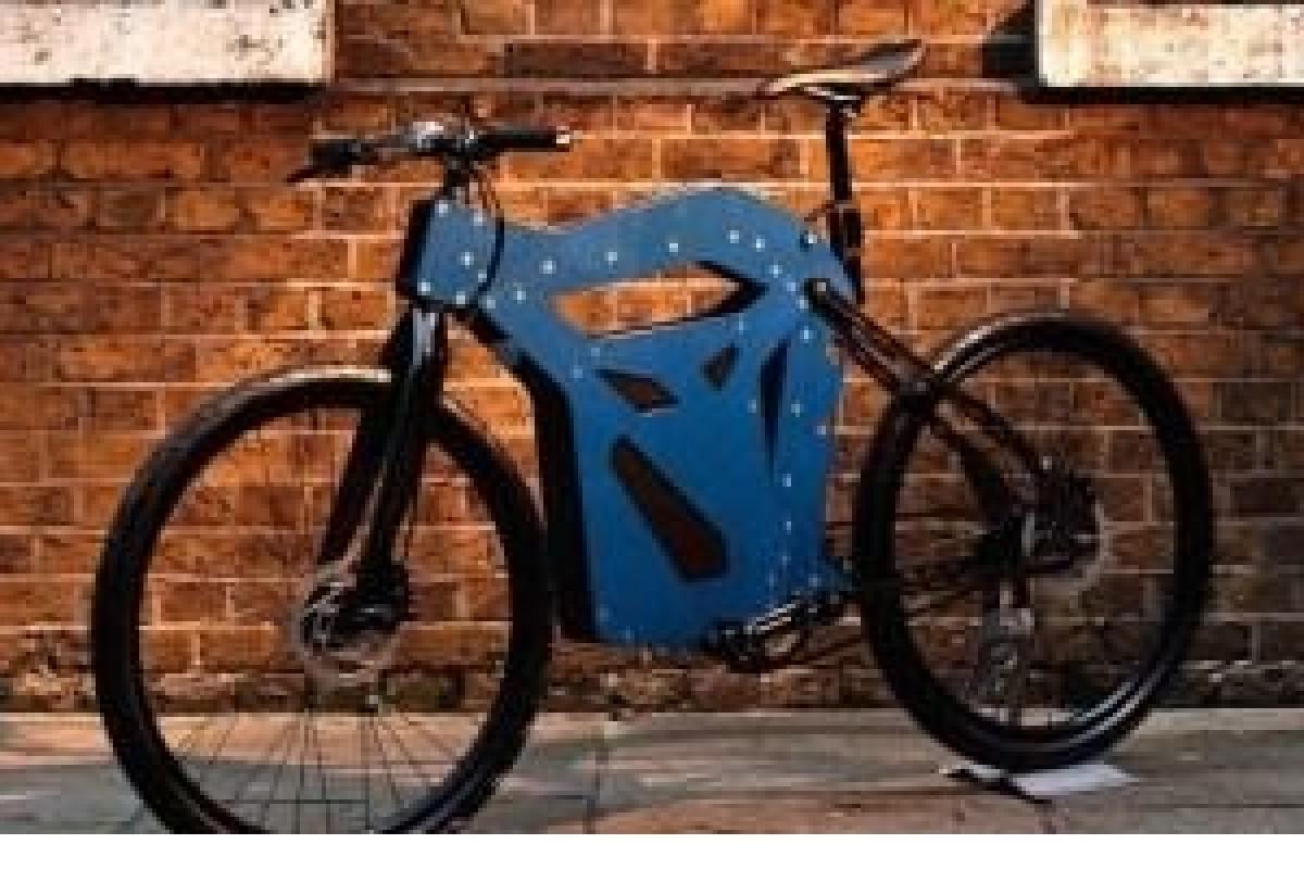 این دوچرخه الکتریکی میتواند از قطعات پرینترهای 3 بعدی استفاده کند