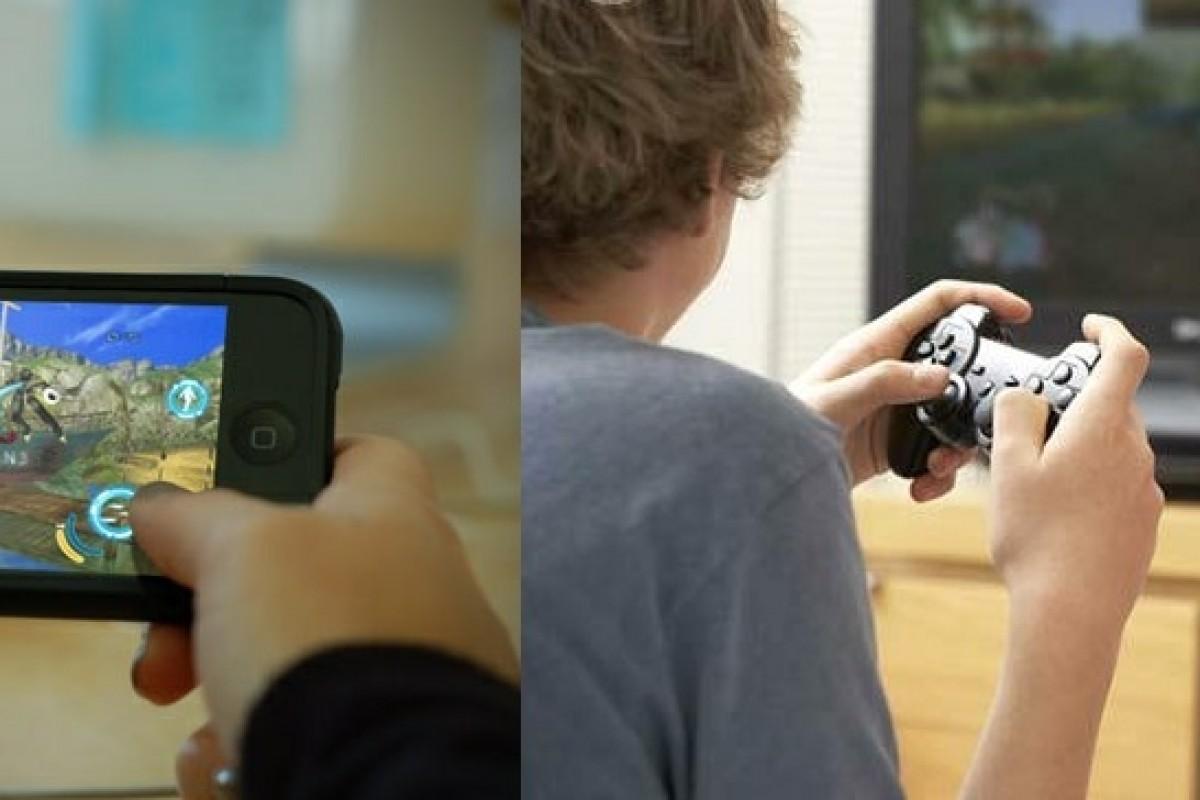 کودکان اسمارت فونها را به کنسول بازی ترجیح میدهند