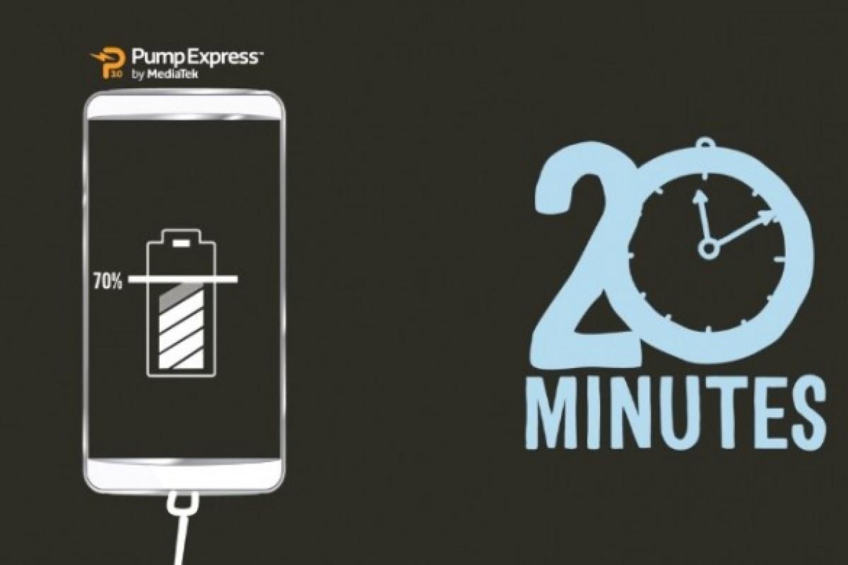 تکنولوژی جدید مدیاتک برای شارژ سریع معرفی شد