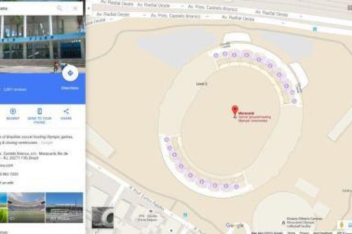 نقشه گوگل افراد را در المپیک 2016 راهنمایی میکند
