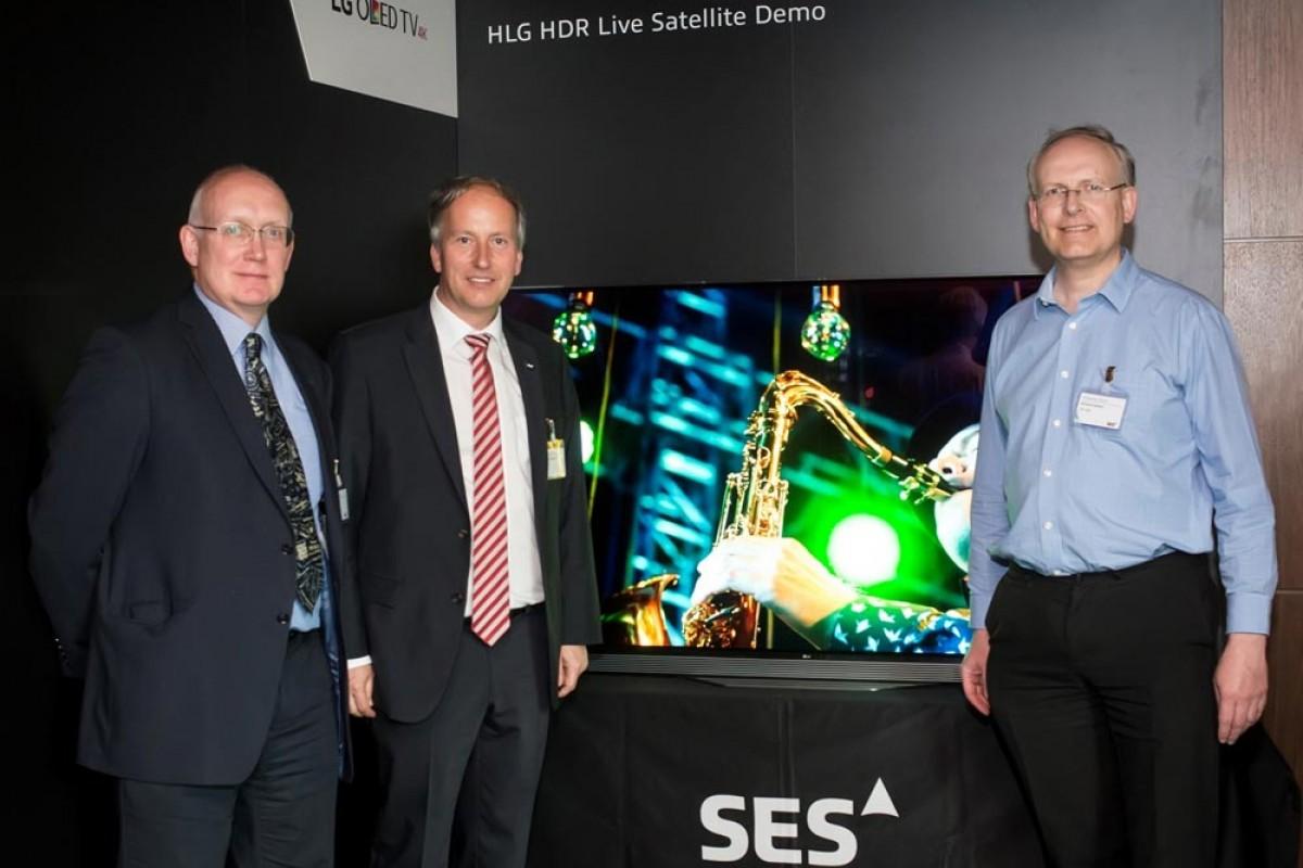 الجی از تلویزیون OLED خود با قابلیت نمایش کیفیت بالای HDR رونمایی کرد