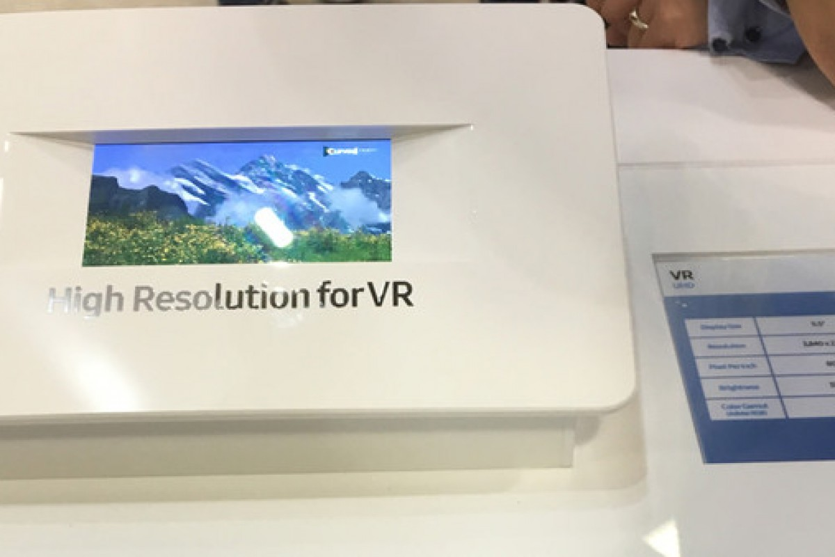 سامسونگ در حال ساخت صفحه نمایش ۵.۵ اینچی با کیفیت ۴K برای واقعیت مجازی