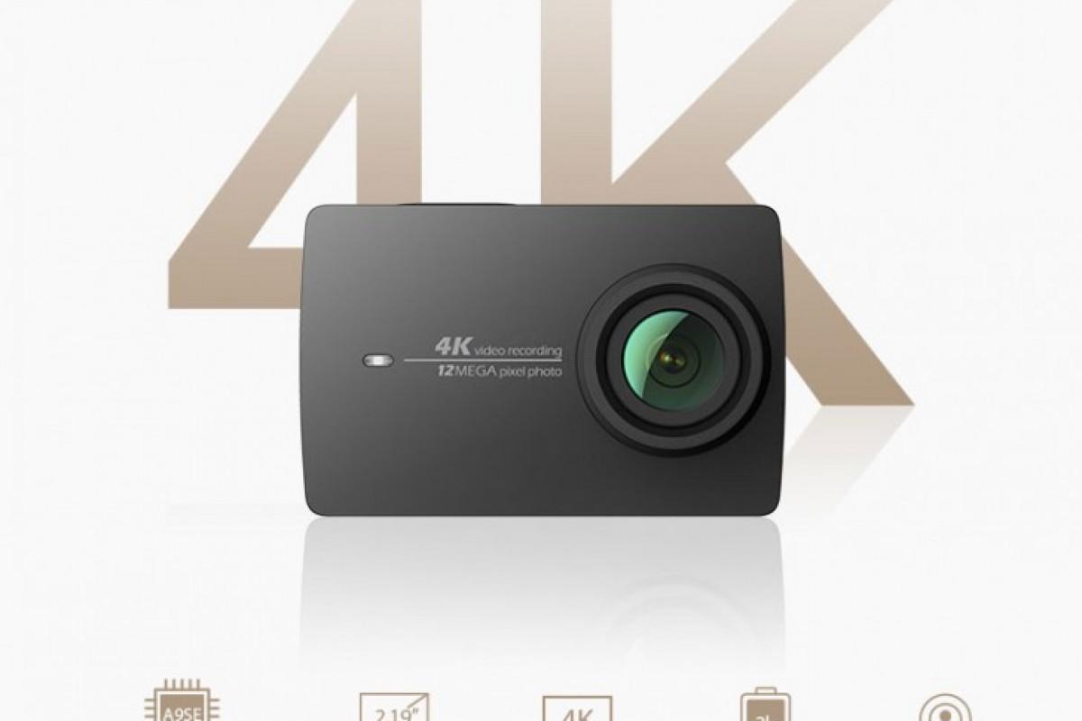با شیائومی YI 4K آشنا شوید: اکشن کمرا جدیدی که میتواند به صورت ۴K فیلمبرداری کند!