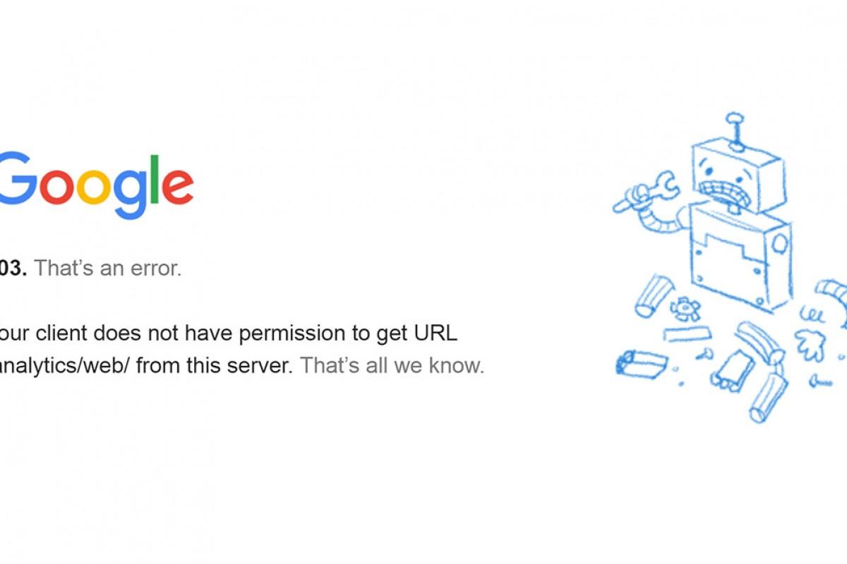 گوگل آنالیتیکس دوباره بر روی کاربران ایرانی بسته شد؟