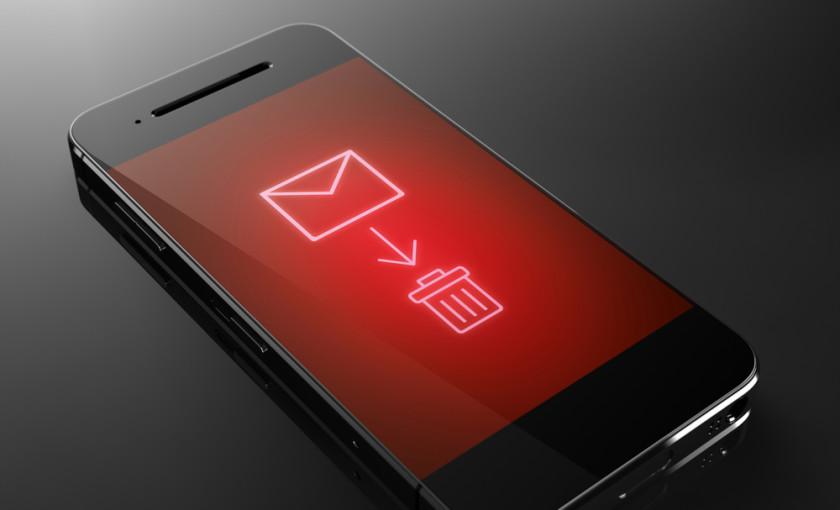 delete-sms-text-message تکلیف پیامکهای مزاحم تبلیغاتی شخصی بهزودی یکسره میشود