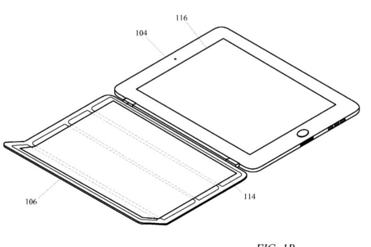 اپل پتنت یک کاور هوشمند با ویژگیهای جدید را برای iPad به ثبت رساند