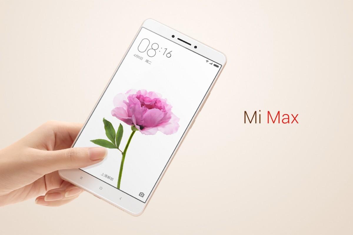 گوشی هوشمند ۶.۴۴ اینچی شیائومی Mi Max رسما معرفی شد