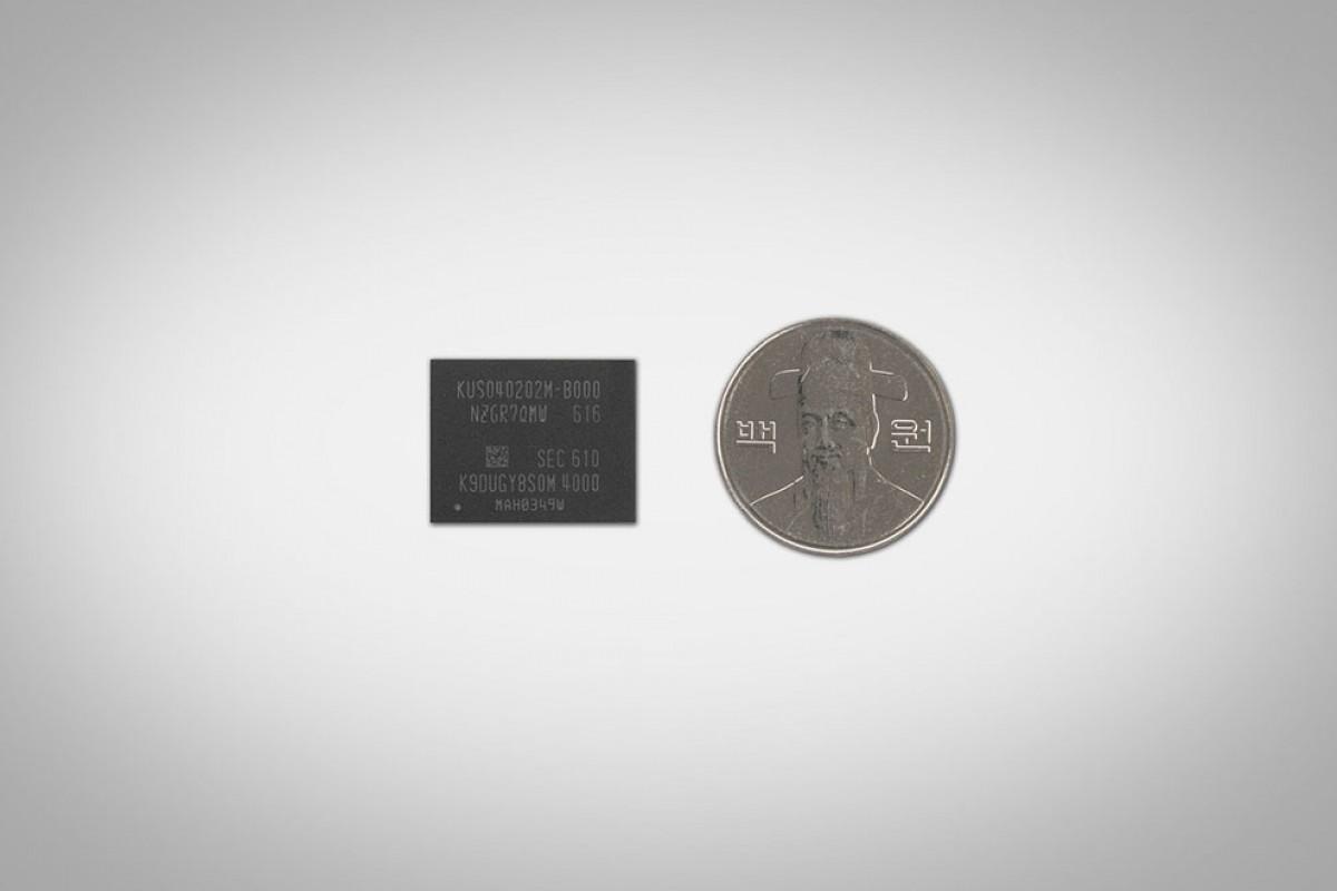 شاهکار جدید سامسونگ: تولید یک SSD با ظرفیت ۵۱۲ گیگابایت به اندازه یک سکه!