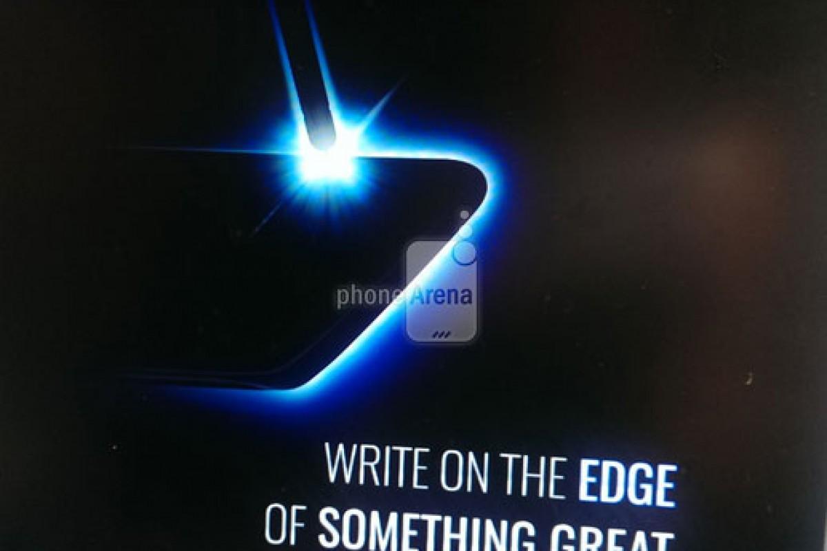 گلکسی نوت ۷ و تایید انحنا در لبههای صفحه نمایش
