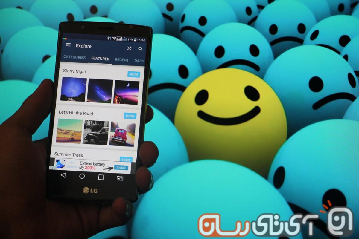 بررسی اپلیکیشن Background: زیباترین تصاویر پسزمینه دنیا در گوشی شما!